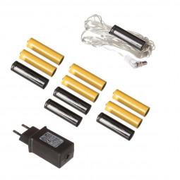 Set Accessoires Transformateur Boitier pour Piles AA
