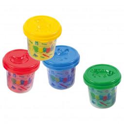 Pâte à modeler 4 pots