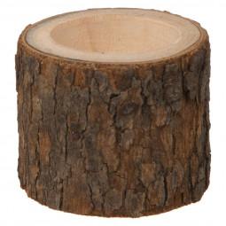 Photophore en Bois D 5 cm  A l'orée des bois