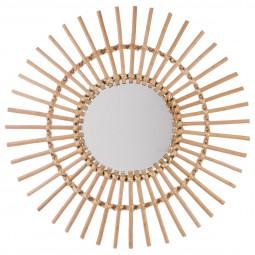 Miroir rotin soleil D58