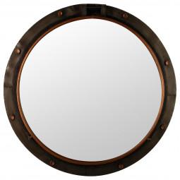 Miroir métal hublot d74