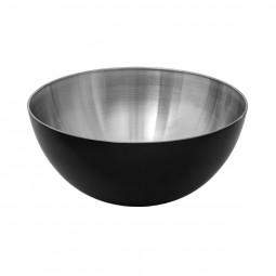 Saladier inox noir 24cm