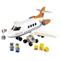 Jouet avion enfant avec figurines