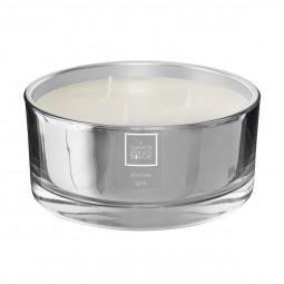 Bougie parfumée marbre gris alix 650g