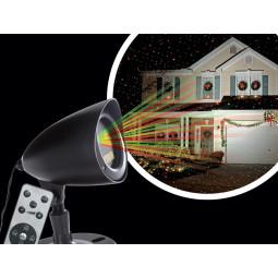 Projecteur Laser extérieur Laser de façade rouge et vert avec télécommande