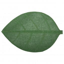 Set de table feuille vert 50x33