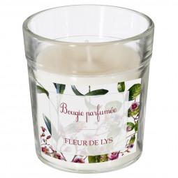 Bougie parfumée lys 160g