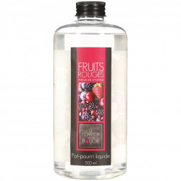 Pot pourri liquide fruits rouges 500ml