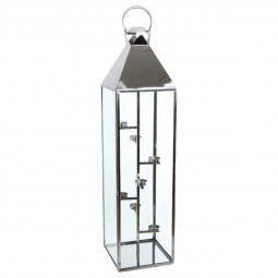 Lanterne d'extérieur en INOX Hauteur 160 cm