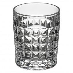 Verre à whisky diamant 23 cl