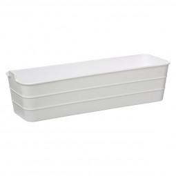Bac de rangement long 1,6L baltik blanc