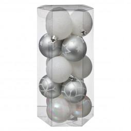 Décoration de sapin Lot de 15 Boules de Noël D 5 cm Sublime noël