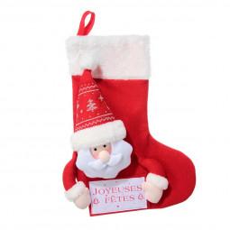 Décoration de Noël Botte avec Tête peluche H 50.8 cm Les incontournables