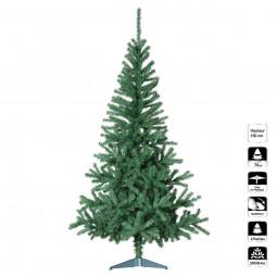 Sapin de Noël artificiel Vert H 150 cm collection Essentiel