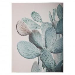 Toile imprimée cactus 59x79x3