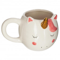Mug licorne H 10.8 cm