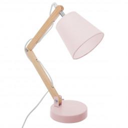 Lampe articulée rose H36
