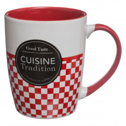 Mug rond Cuisine Traditionnelle 33 cl