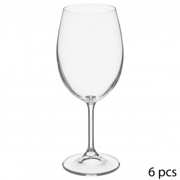 Lot de 6 verres à eau tana 45cl