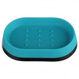 Porte savon turquoise