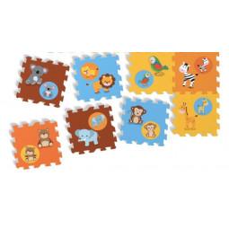 Puzzle Tapis en mousse animaux 8 pièces