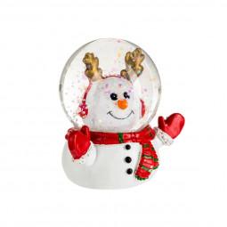 Décoration de Noël  Boule de neige Astronaute D 4.5 cm American dream