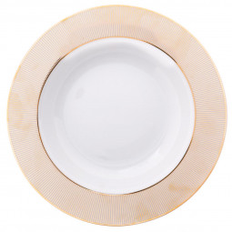 Lot de 6 assiettes plates alma