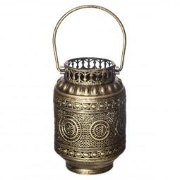 Lanterne métal à poignée H18,5