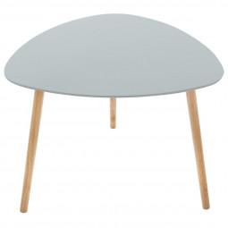 Table de café Mileo gris clair