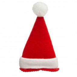 Bonnet de Noël  avec clip pince cheveux pour Adulte taille unique Les incontournables