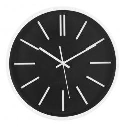 Pendule  black & white Noa D35 cm