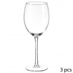 Lot de 3 verres à eau style 44 cl