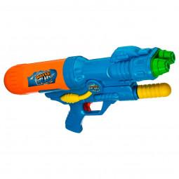 Pistolet à pompe à eau 2 Jets - 40 cm