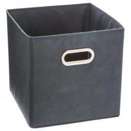 Boîte de rangement bleu orage 31x31