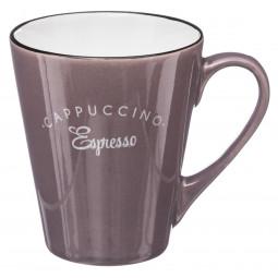 Lot de 4 mugs coniques 30cl Café