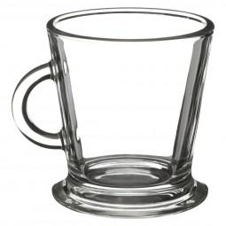 Lot de 4 tasses en verre 18cl