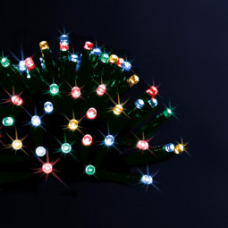 Guirlande lumineuse d'extérieur solaire 100 LED sur 10 Mètres