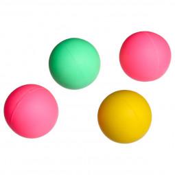 Set de 4 balles de plage D 4 cm