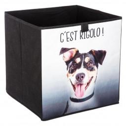 Boîte de rangement animal rigolo 31X31