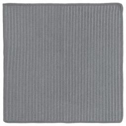 Lot de 2 torchons gris double face 30x30 cm L'incontournable