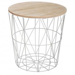 Table à café grise Kumi moyen modèle