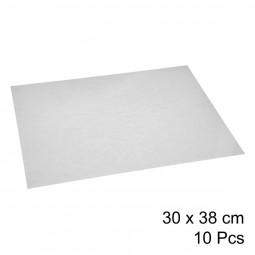 Lot de 10 feuilles de papier sulfurisé 30x38cm