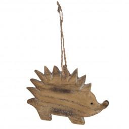Décoration Sujet de Noël Animal en résine H 9 cm A l'orée des bois