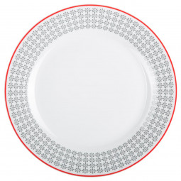 Assiette plate ethno 27cm