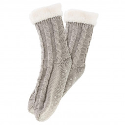 Chaussette tricot taille unique