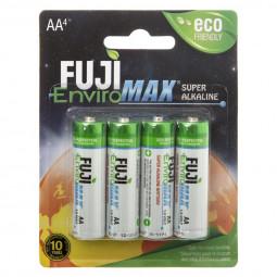 Lot de 4 piles alkaline LR6 fuji