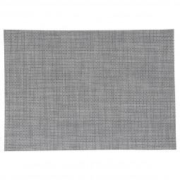 Set de table texaline 35.5x30 cm gris