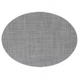 Set de table texaline ovale taupe