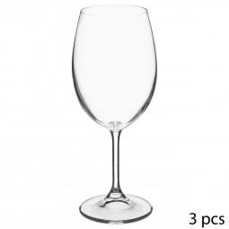 Lot de 3 verres à eau tana 45cl