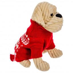 Déguisement de Noël pour Chien Pull rouge Les incontournables